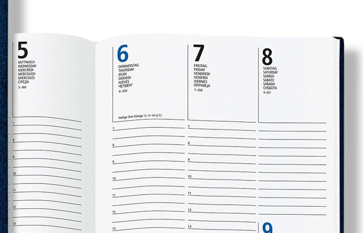 buchkalender media cover terminplaner 2019 mit einband druck. Black Bedroom Furniture Sets. Home Design Ideas