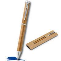 holz kugelschreiber ming werbeartikel kugelschreiber mit logo. Black Bedroom Furniture Sets. Home Design Ideas