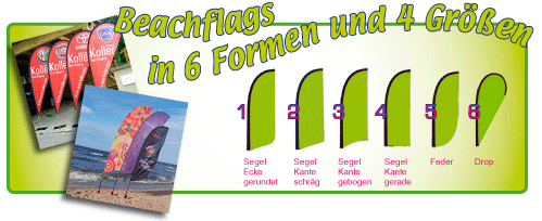 Fahnen + Beachflags
