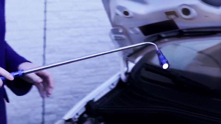 Led taschenlampe teleskop werbeartikel taschenlampe mit gravur